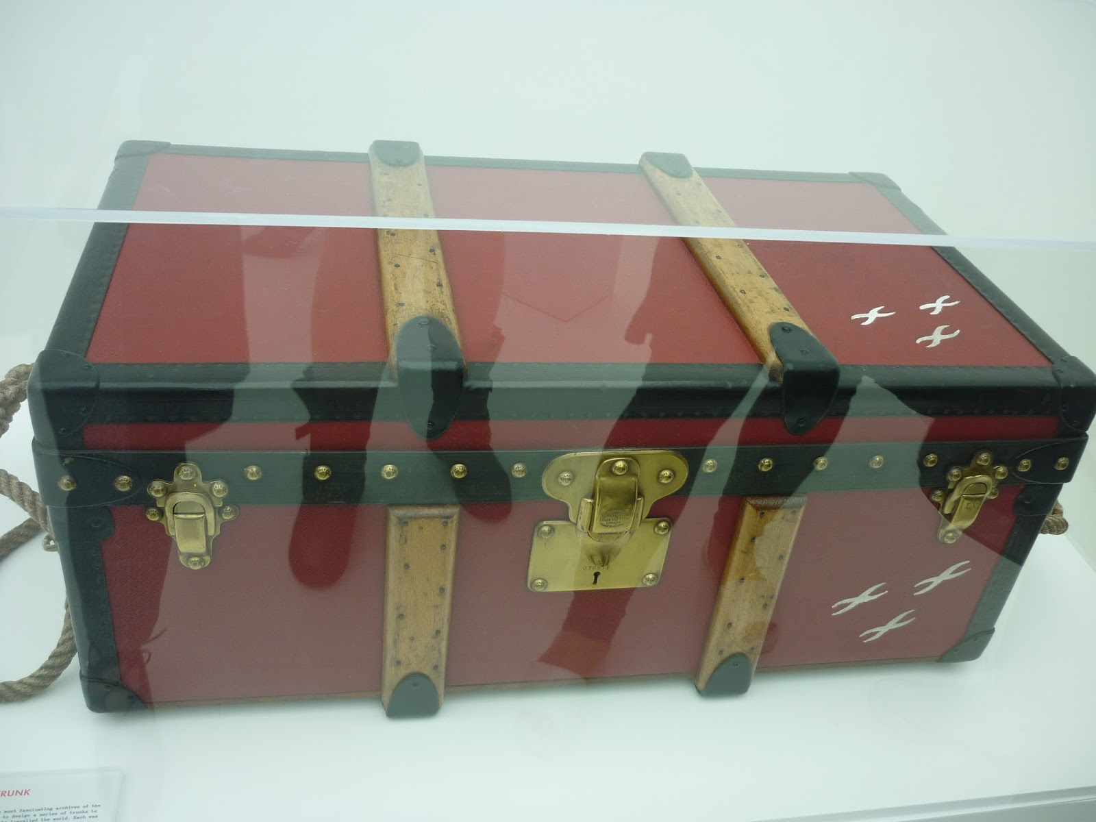 Albert Kahn's Trunk, Louis Vuitton Series 3 Exhibition | Petite Silver Vixen