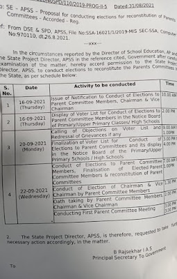 PMC SMC Parent Committee Election 2021 Schedule, Instructions