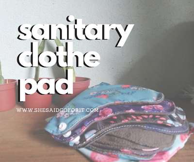 Zero Waste PH blogger Teresa Gueco switched to washable sanitary pads