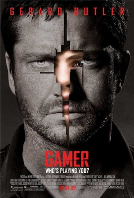 Gamer (2009) Hindi Dual Audio 480p BRRip 300MB