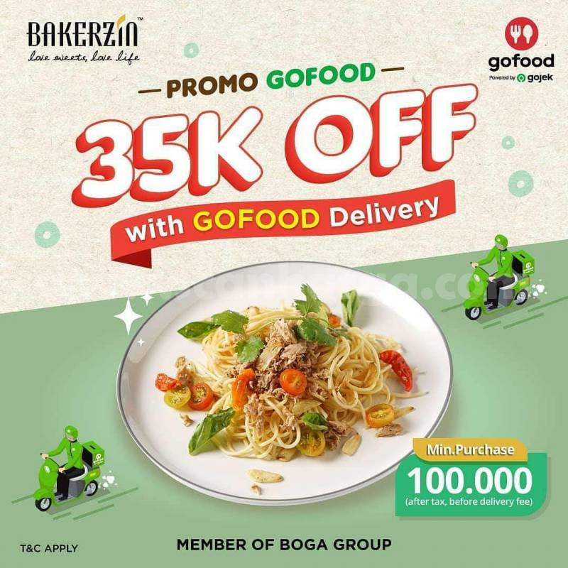 Promo BAKERZIN Diskon Rp 35.000 via Gofood