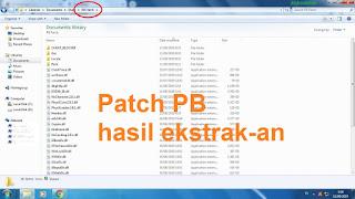 folder patch PB ekstrak