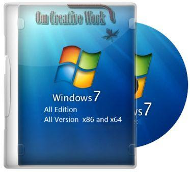 Windows 7 All In One 32/64 Bit ISO setup Free Download