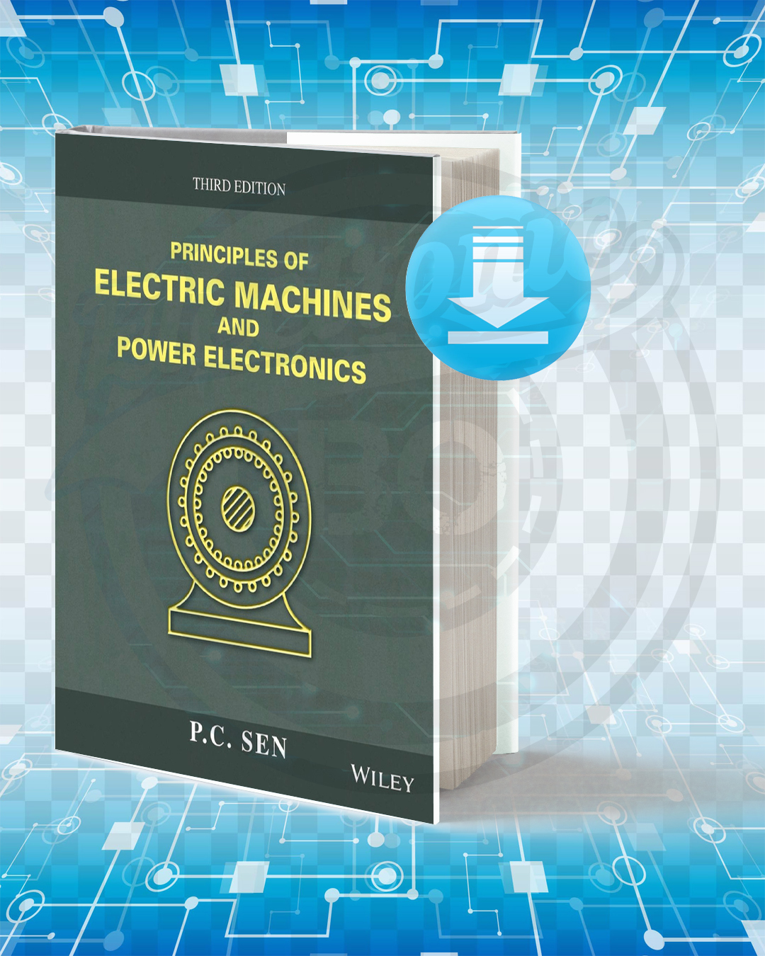 Free Book Principles of Electric Machines and Power Electronics pdf.