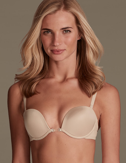Marks and Spencer 100 ways to wear multiway bra with low back converter