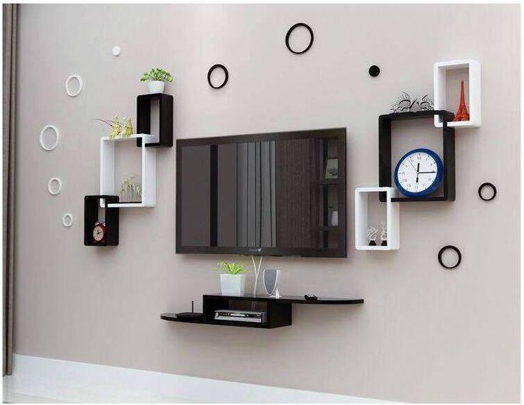 صور ديكورات شاشات بلازما على الحائط