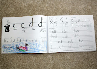 Handwriting Without Tears: First Grade Sample
