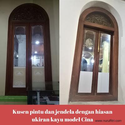 Ukiran Kayu di Masjid Agung Sumedang