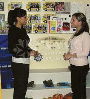 Orientation of New Students at Start of School- Montessori Parent