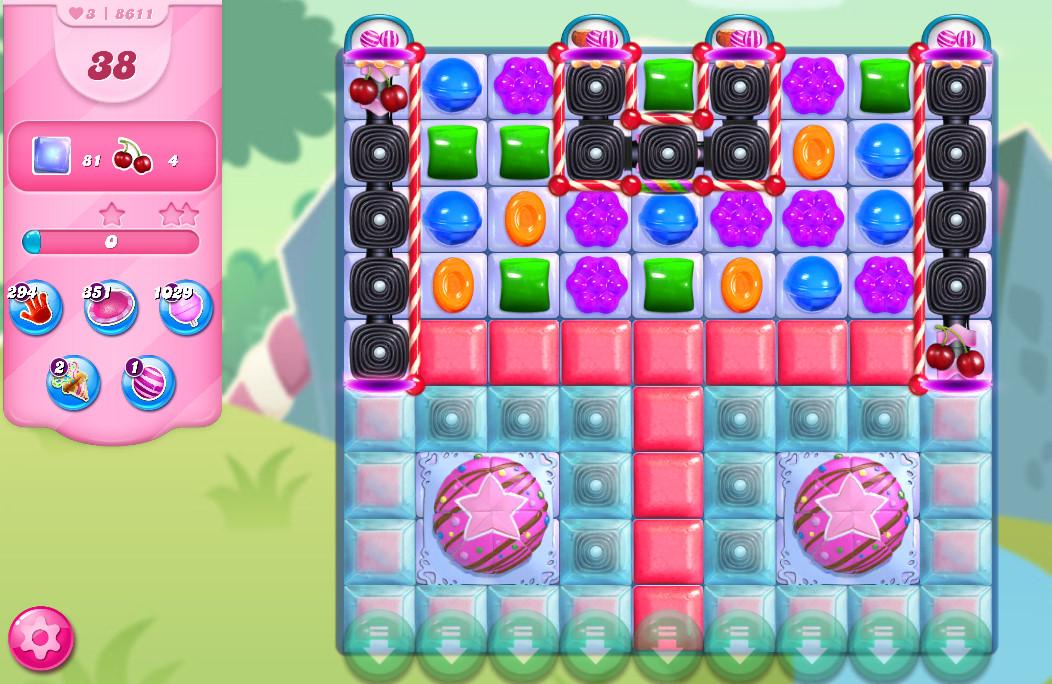 Candy Crush Saga level 8611