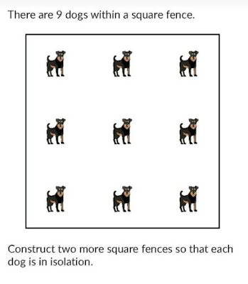 Puzzle with Answer 9 dogs