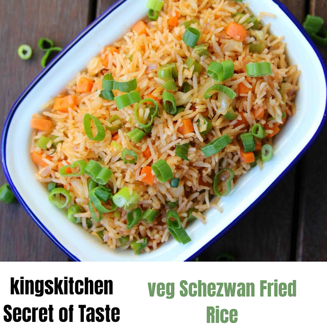 Veg Schezwan Fried Rice,veg Schezwan Fried Rice Recipe in Hindi