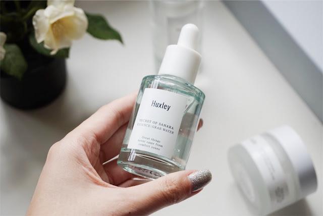huxley skincare grab water