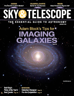 cover Sky and Telescope magazine Jan 2021
