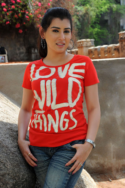 Telugu Actress Archana Latest Bubbly Pics In Red Dress Actress Trend