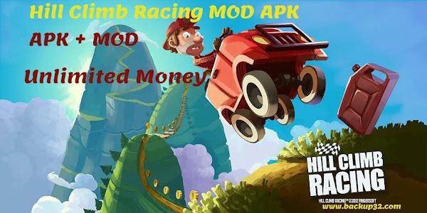 تحميل لعبة Hill Climb Racing MOD APK احدث اصدار - غير محدودة