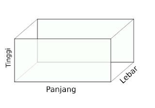 contoh gambar balok
