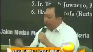 Beredar Video Jenderal TNI Purn Tyasno Sebut TNI Bisa Gulingkan Pemerintah Demi Khilafah