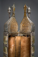Torah scroll case from Kolkata, India