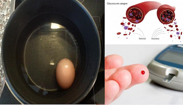 Remedio Natural con Huevo Cocido para Reducir el Azúcar en Sangre