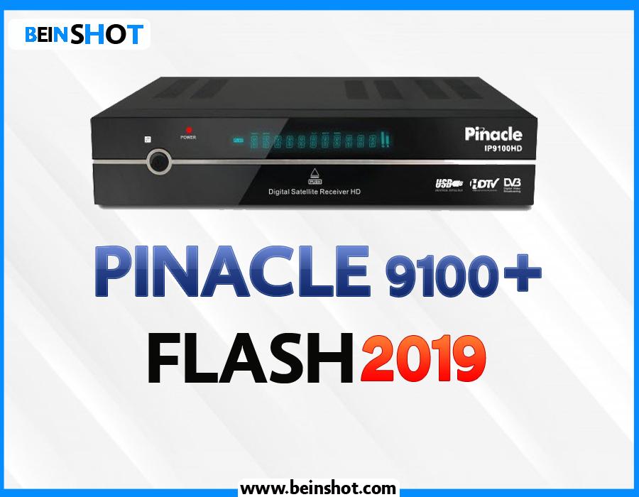 التحديث الرسمي لجهاز PINACLE 9100+ 2019