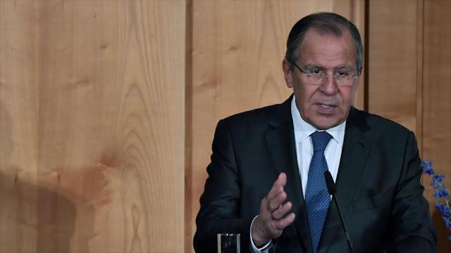 """Canciller ruso acusa a EEUU del """"robo a plena luz del día"""""""