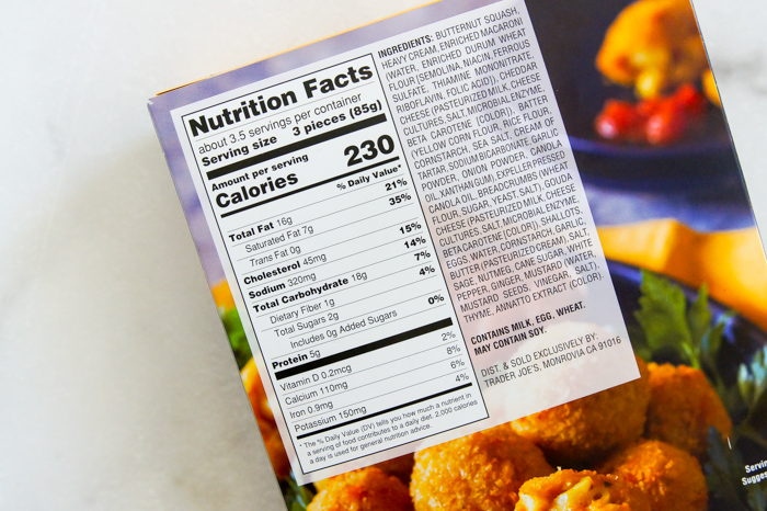 Trader Joe's Butternut Squash Mac & Cheese Bites Review