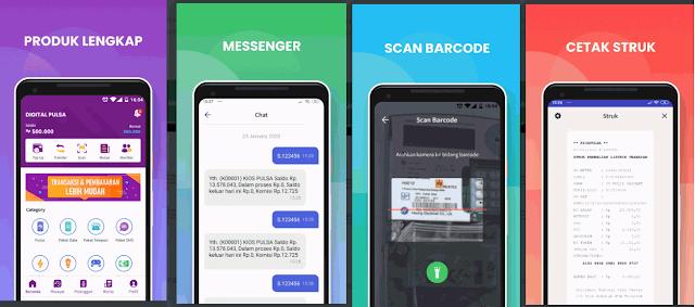 Aplikasi Beli Pulsa Bayar Bulan Depan vs Mobile Topup Digital Pulsa Magetan
