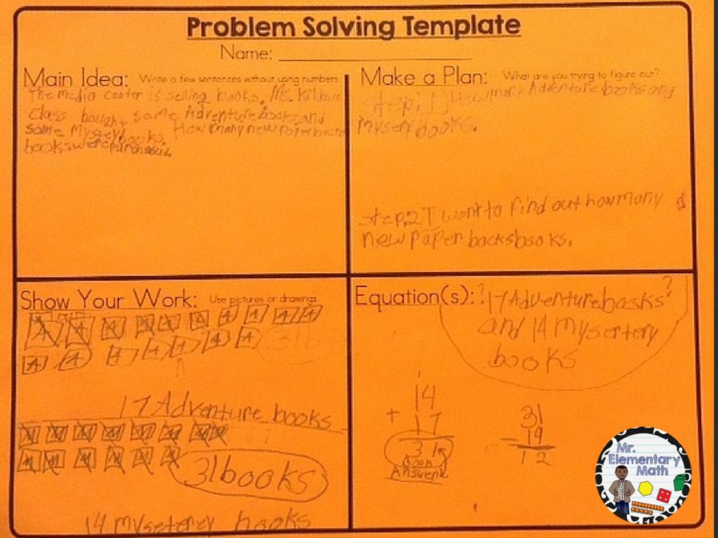 Math Problem Solving 101 - Mr Elementary Math