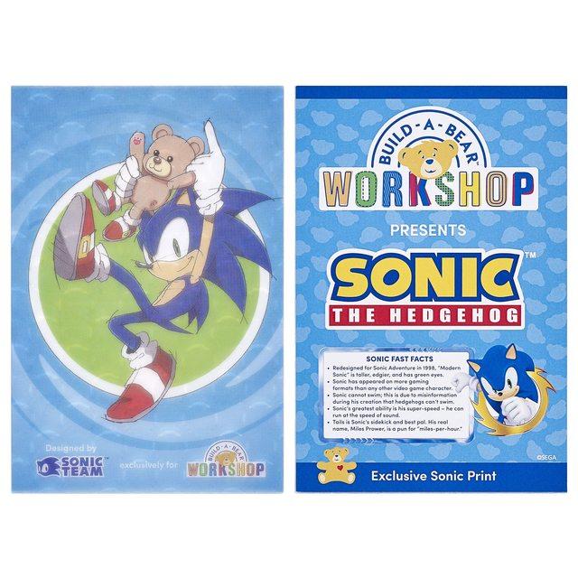 Se anuncia un nuevo peluche y ropa basada en Sonic The Hedgehog