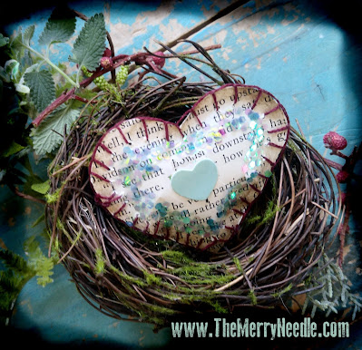 the merry needle Valentine's day crafting free printables