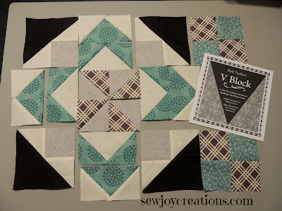 guild mystery quilt pieced units
