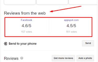 تقييمات مواقع السوشيال للبيزنيس بتاعك