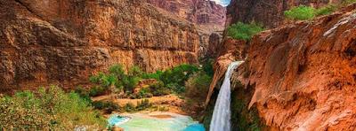 Image de couverture facebook Beau paysage :Canyon