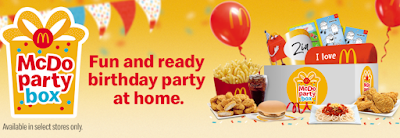 Mcdonalds Party at Home 2021