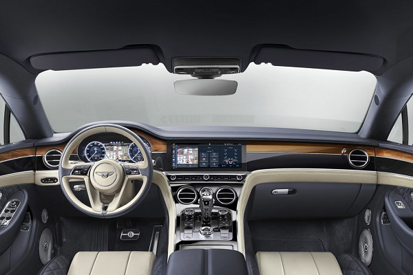 Interior Bentley Continental GT 2018