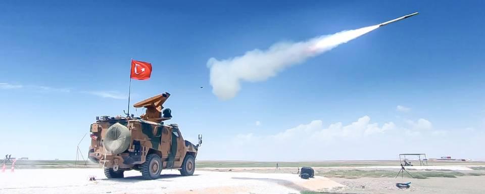 Турецький ЗРК Sungur випробували на максимальну дальність