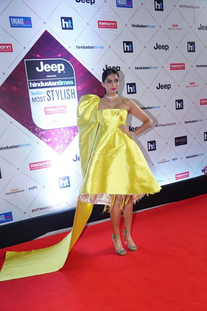 Sonam Kapoor at HT Most Stylish Awards 2018