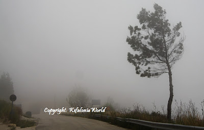 Kefalonia in Fog