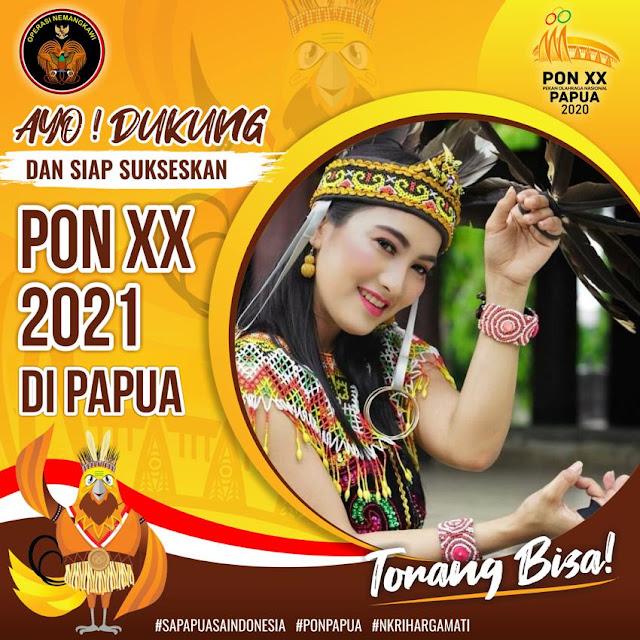 Link Download Twibbon PON XX Papua 2021