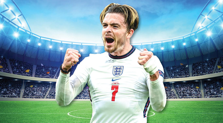 England midfielder Jack Grealish