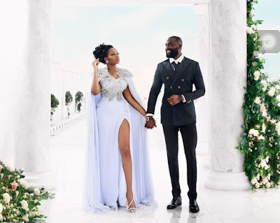 See Gedoni and Khafi White Wedding Photos