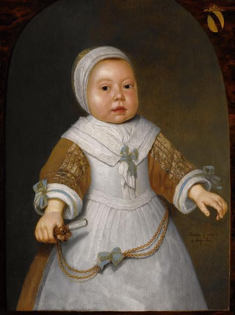 Альберт Кёйп - Портрет ребенка из семейства ван дер Бурх