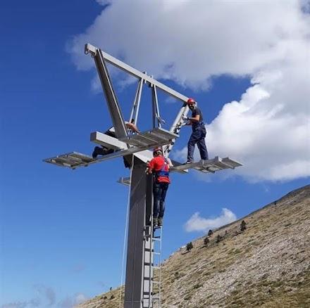 Καλάβρυτα: Έτοιμη η πίστα Χιονοδρομίας, στο Κέντρο, μέσα στον Οκτώβριο