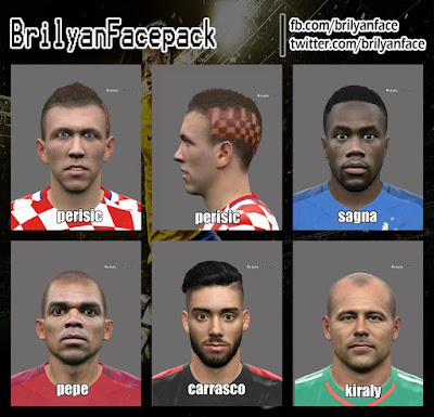 PES 2016 Facepack v3 by Brilyan