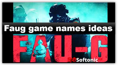 faug game name ideas, faug user name, faug cool name, faug game name, faug name list, new faug game, faug name symbol,
