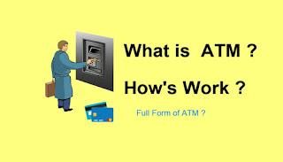 ATM Ka Full Form ? | ATM Ka Full Form Kya Hota He ? | What is ATM Machine ? | All About ATM Machine
