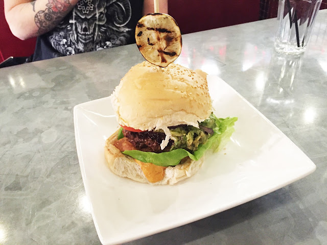 Handmade Burger Co Beef Mexican Burger