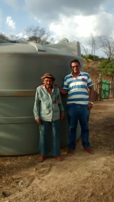Cícero do Cabana faz visita a zona rural