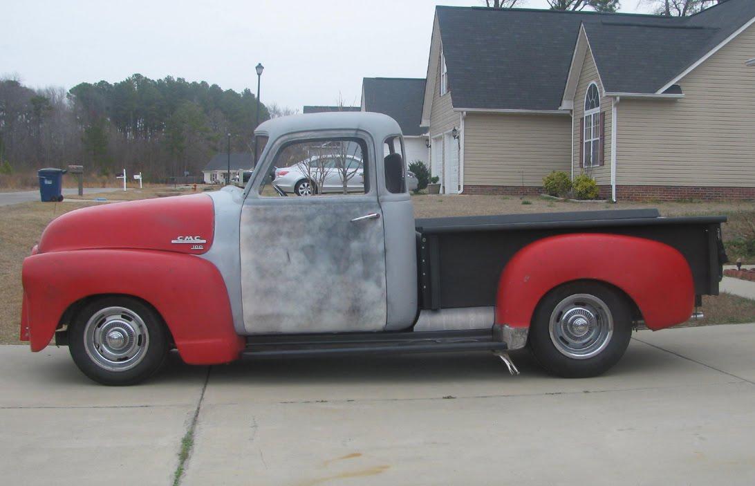 1951 gmc chevy pickup truck. Black Bedroom Furniture Sets. Home Design Ideas